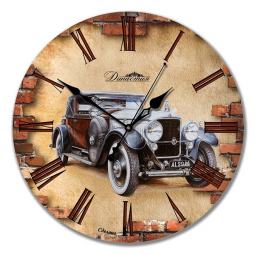 Настенные часы из дерева Династия  Ретро-2 \ 02-001