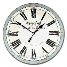 Настенные часы из дерева Династия  Оливия \ 02-007