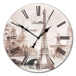 Настенные часы из дерева Династия  Париж-1 \ 02-008