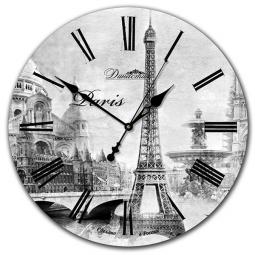 Настенные часы из дерева Династия  Париж-2 \ 02-010