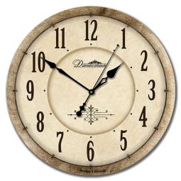 Настенные часы из дерева Династия  Классика \ 02-019