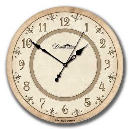 Настенные часы из дерева Династия  Классика-2 \ 02-020