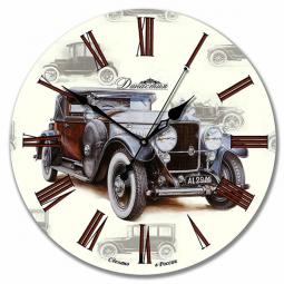 Настенные часы из стекла Династия  Ретро-1 \ 01-001