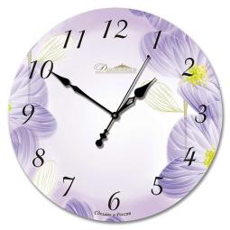 Настенные часы из стекла Династия  Весенние настроение \ 01-002