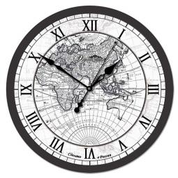 Настенные часы из стекла Династия  Цивилизация \ 01-005