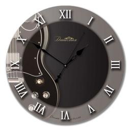 Настенные часы из стекла Династия  Гитара \ 01-025