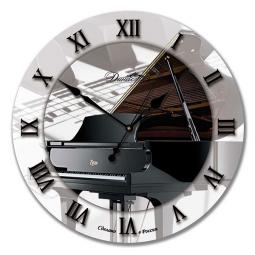 Настенные часы из стекла Династия  Рояль \ 01-026