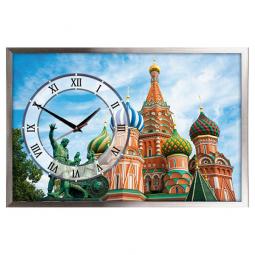 Настенные часы из песка Династия  Москва \ 03-158