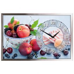 Настенные часы из песка Династия  Фрукты \ 03-159