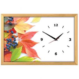 Настенные часы из песка Династия  Осень \ 03-161