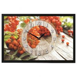 Настенные часы из песка Династия  Рябина \ 03-162