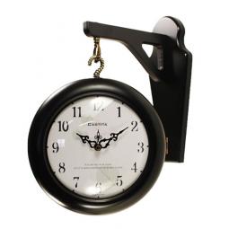 Настенные часы на кронштейне Castita (704BK)