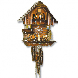 Механические часы с кукушкой SARS \ 0475-90