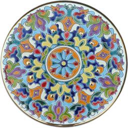 Декоративная тарелка 30 см РусАрт \ Т-3001