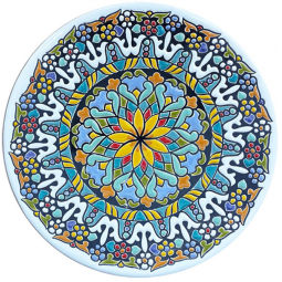 Декоративная тарелка 30 см РусАрт \ Т-3005