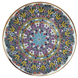 Декоративная тарелка 30 см РусАрт \ Т-3009
