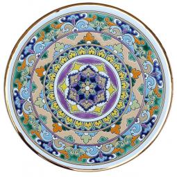 Декоративная тарелка 40 см РусАрт \ Т-4003