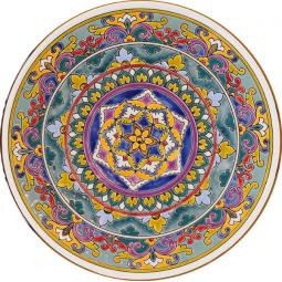 Декоративная тарелка 40 см РусАрт \ Т-4004