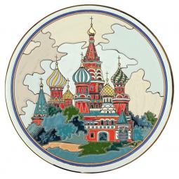 Декоративная тарелка 40 см РусАрт \ Т-4005