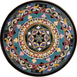 Декоративная тарелка 40 см РусАрт \ Т-4007