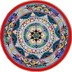 Декоративная тарелка 40 см РусАрт \ Т-4008