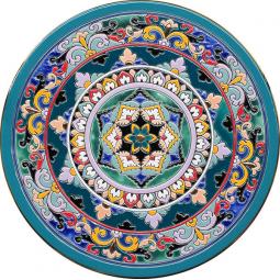 Декоративная тарелка 40 см РусАрт \ Т-4009