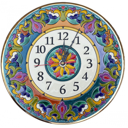 Декоративные настенные часы 30 см РусАрт \ Ч-3001