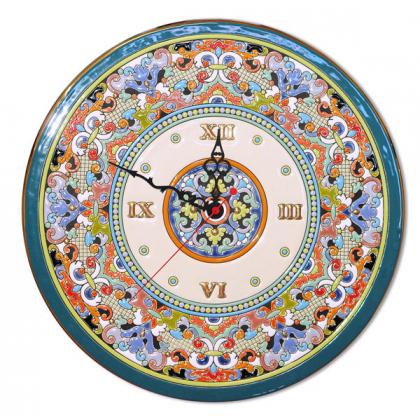 Настенные часы ручной работы 40 см РусАрт \ Ч-4014
