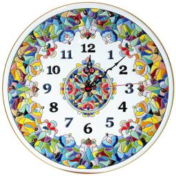 Декоративные настенные часы 40 см РусАрт \ Ч-4015
