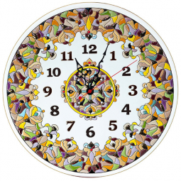 Декоративные настенные часы 40 см РусАрт \ Ч-4016