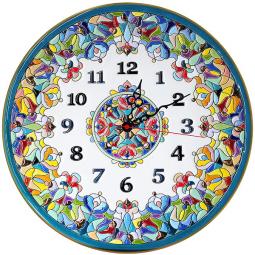Декоративные настенные часы 40 см РусАрт \ Ч-4017