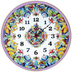 Декоративные настенные часы 40 см РусАрт \ Ч-4018
