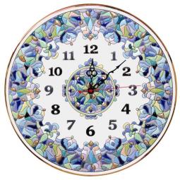Декоративные настенные часы 40 см РусАрт \ Ч-4019