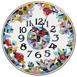 Декоративные настенные часы 40 см РусАрт \ Ч-4020