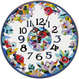 Декоративные настенные часы 40 см РусАрт \ Ч-4022