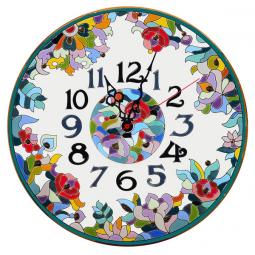 Декоративные настенные часы 40 см РусАрт \ Ч-4023