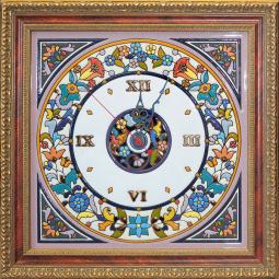 Декоративные настенные часы квадратные 40*40 см РусАрт \ Ч-5003