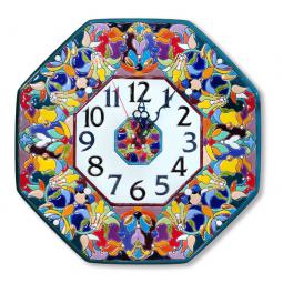 Настенные часы ручной работы восьмиугольные 37*37 см РусАрт \ Ч-6011