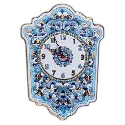 Большие настенные часы ручной работы 45*33 см РусАрт \ Ч-7004