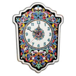 Большие настенные часы ручной работы 45*33 см РусАрт \ Ч-7005