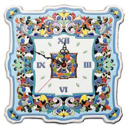 Большие настенные часы ручной работы квадратные 40*40 см РусАрт \ Ч-8002
