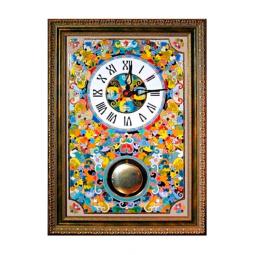 Большие настенные часы ручной работы с маятником 50*45 см РусАрт \ Ч-9001
