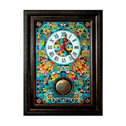 Большие настенные часы ручной работы с маятником 50*45 см РусАрт \ Ч-9002