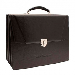 Портфель Tonino Lamborghini Collection Sport Elegance Brown 41x33x16 cm \ TL CA11002-04