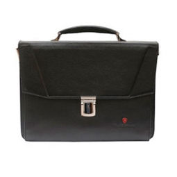 Портфель женский Tonino Lamborghini Collection Sport Elegance Black 38x28x9 cm \ TL CA88003-01