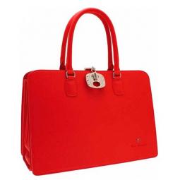 Жесткая каркасная сумка для документов Tonino Lamborghini Collection Sport Elegance Red 41,7x29,7x17,5 cm \ TL CA88004-02
