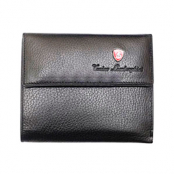 Женский бумажник Tonino Lamborghini Collection Sport Elegance Black 13х11 cm \ TL PF88003-01