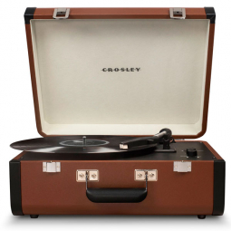 Виниловый проигрыватель Crosley PORTFOLIO PORTABLE c Bluetooth \ CRL6252A-BR