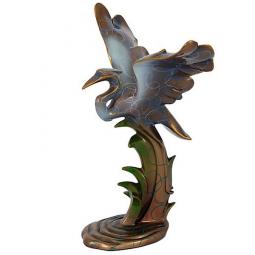 Статуэтка Цапля малая Veronese \ VWU70894A4