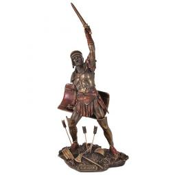 Статуэтка Гладиатор с оружием Veronese \ VWU77121A4